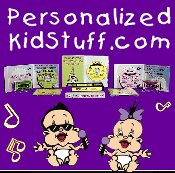 Picture of ABC songs from PersonalizedKidStuff.com catalog