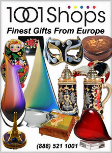 1001 Shops - Finest Luxury Gifts from Europe