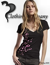 Picture of organic tee shirts from 3 Clothing Company - Fashion T-shirts catalog