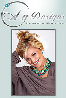 Picture of silver and turquoise jewelry from AG Designs - Jewelry catalog