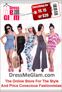 Picture of fashion on a budget from DressMeGlam catalog