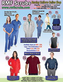 Picture of rmf scrubs from RMF Scrubs catalog