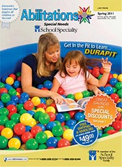 Picture of special education resources from Abilitations Special Needs - School Specialty catalog