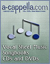 Picture of sheet music online from A-Cappella.com catalog