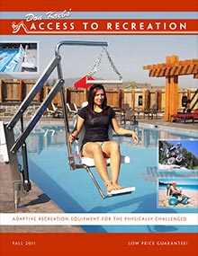 Picture of disability equipment from Access to Recreation catalog
