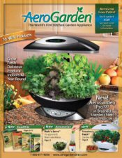 Picture of indoor herb garden from AeroGarden catalog