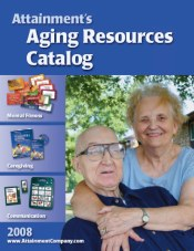 Picture of books for caregivers from Aging Resources catalog