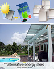 Picture of home solar energy systems from Alternative Energy Store catalog