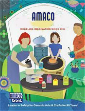 Picture of pottery tools from AMACO catalog
