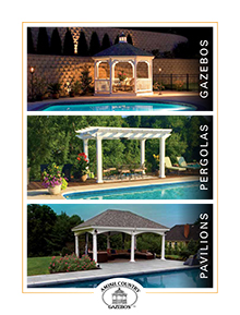 Picture of Amish Gazebos from Amish Country Gazebos catalog