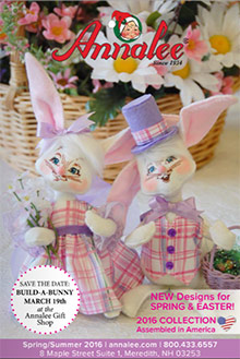 Picture of Annalee Dolls from Annalee Dolls catalog