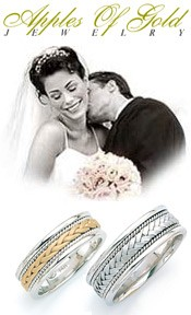 Apples of Gold:  ----  Wedding-Band-Ring.com