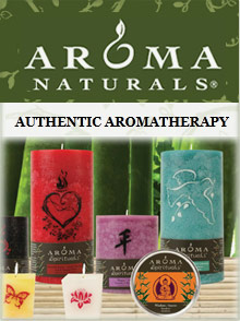 Picture of Aroma Naturals candles from Aroma Naturals - The Natural HBC Group catalog