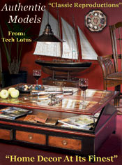 Picture of replica furniture from Authentic Models catalog