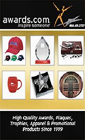Picture of achievement awards from Awards.com catalog