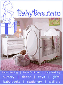 Picture of personalized baby gift sets from BabyBox.com catalog