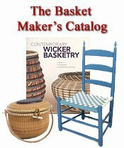 Picture of basketry supplies from Basket Maker's Catalog catalog