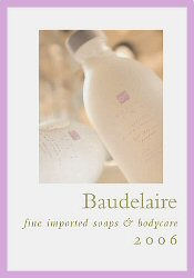 Picture of face and body soap from Baudelaire Soaps catalog