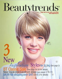Picture of wigs on line from Beauty Trends Wigs catalog