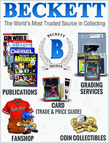 Picture of beckett media from Beckett Sports Collectibles & Memorabilia catalog