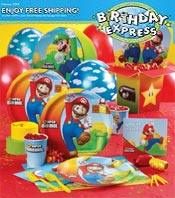 Picture of First birthday invitations from Birthday Express - OLD catalog