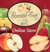 Picture of fruit gifts from Bountiful Fruit catalog