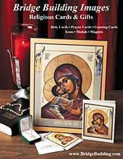 Picture of prayer cards from Bridge Building Images catalog