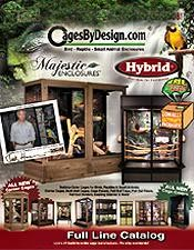 Picture of decorative bird cages from CagesByDesign.com catalog