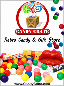 Picture of candy crate from Candy Crate catalog