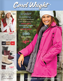 Picture of carol wright catalog from Carol Wright Gifts - AmeriMark Direct catalog