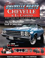 Picture of Chevelle restoration parts from Bob's Chevelle Parts catalog