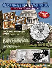 Picture of collectable coins from Collectible America catalog