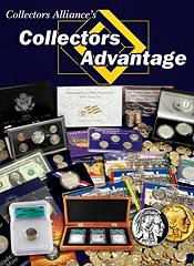Picture of rare collectible coins from Collectors Alliance catalog
