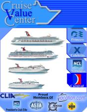 Picture of best cruise lines from Cruise Value catalog
