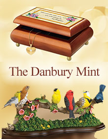 Picture of danbury mint from The Danbury Mint catalog
