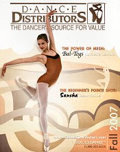 Picture of dance wear from Dance Distributors catalog