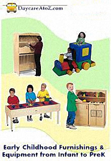 Picture of day care supplies from Daycare A to Z catalog