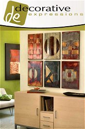 Picture of metal wall art from Decorative Expressions catalog