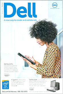 Picture of dell catalog from DELL Computer catalog