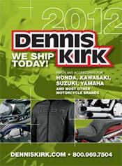 Picture of yamaha motorcycle parts from Metric Bike Parts by Dennis Kirk catalog