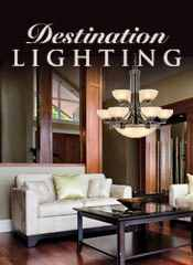 Picture of top lighting from Destination Lighting catalog