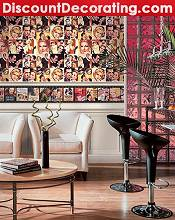 Picture of discount wallpaper online from DiscountDecorating.com catalog