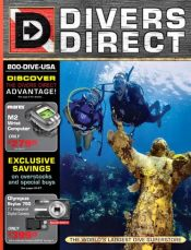 Picture of dive gear for sale from Divers Direct catalog