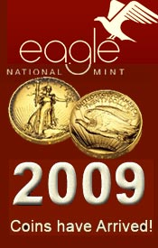 Picture of presidential coin collection from Eagle National Mint catalog