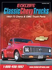 Picture of classic chevy truck parts from Classic Chevy Trucks by Eckler's catalog