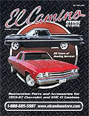 Picture of El Camino parts from El Camino Store by Eckler's catalog