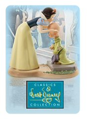 Picture of Disney ceramic figurines from Walt Disney Classics Collection catalog