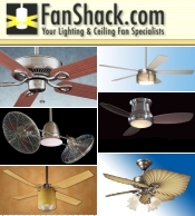 Picture of outdoor ceiling fans from Fan Shack catalog