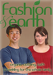 Picture of eco friendly fashion from Fashion & Earth catalog