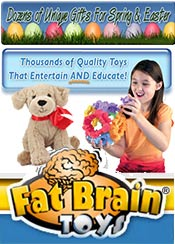 Picture of best toys for toddlers from Fat Brain Toys catalog
